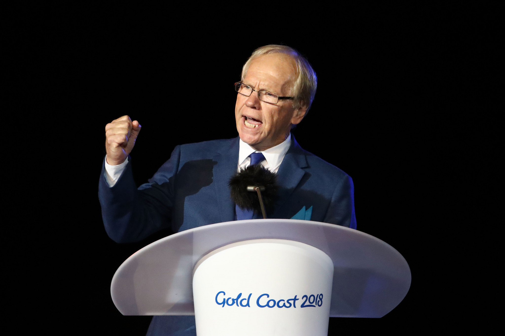 Gold Coast chairman Peter Beattie has apologised for the Closing Ceremony ©Getty Images