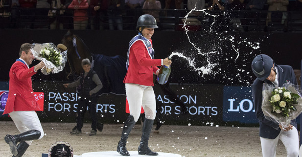 Madden rides fault to win second FEI World Cup Jumping title in Paris
