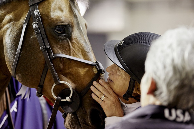 Breitling LS and Beezie Madden - World Cup Show Jumping champions once again in Paris ©FEI