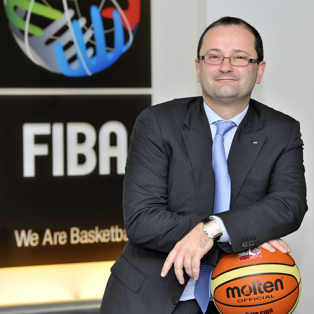 Patrick Baumann claims his main focus remains as secretary general of the International Basketball Federation ©FIBA