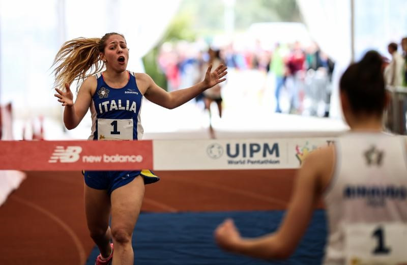 Italy triumph in women's relay at UIPM Tetrathlon Under-19 World Championships