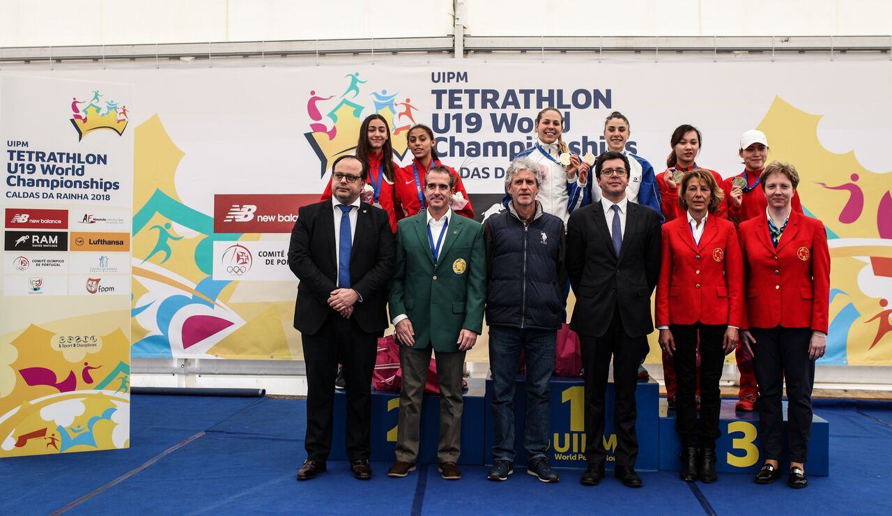 China and Egypt completed the podium positions behind Italy ©UIPM