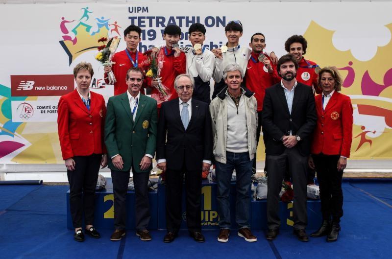 South Korea secure men's relay gold medal at UIPM Tetrathlon Under-19 World Championships