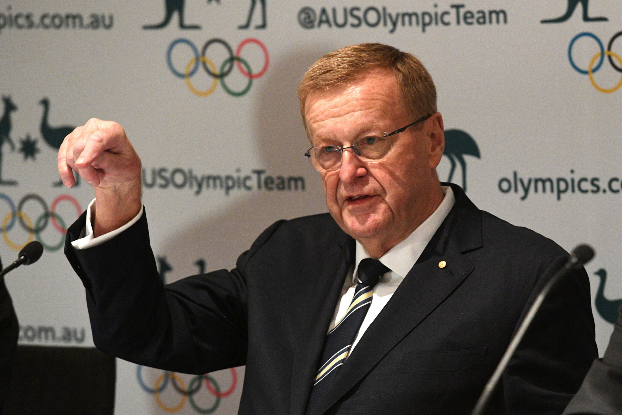 AOC President John Coates is a supporter of an Australian bid for the Olympic Games ©Getty Images