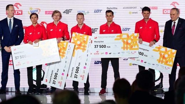 Polish Pyeongchang 2018 ski jumping medallists honoured in Warsaw