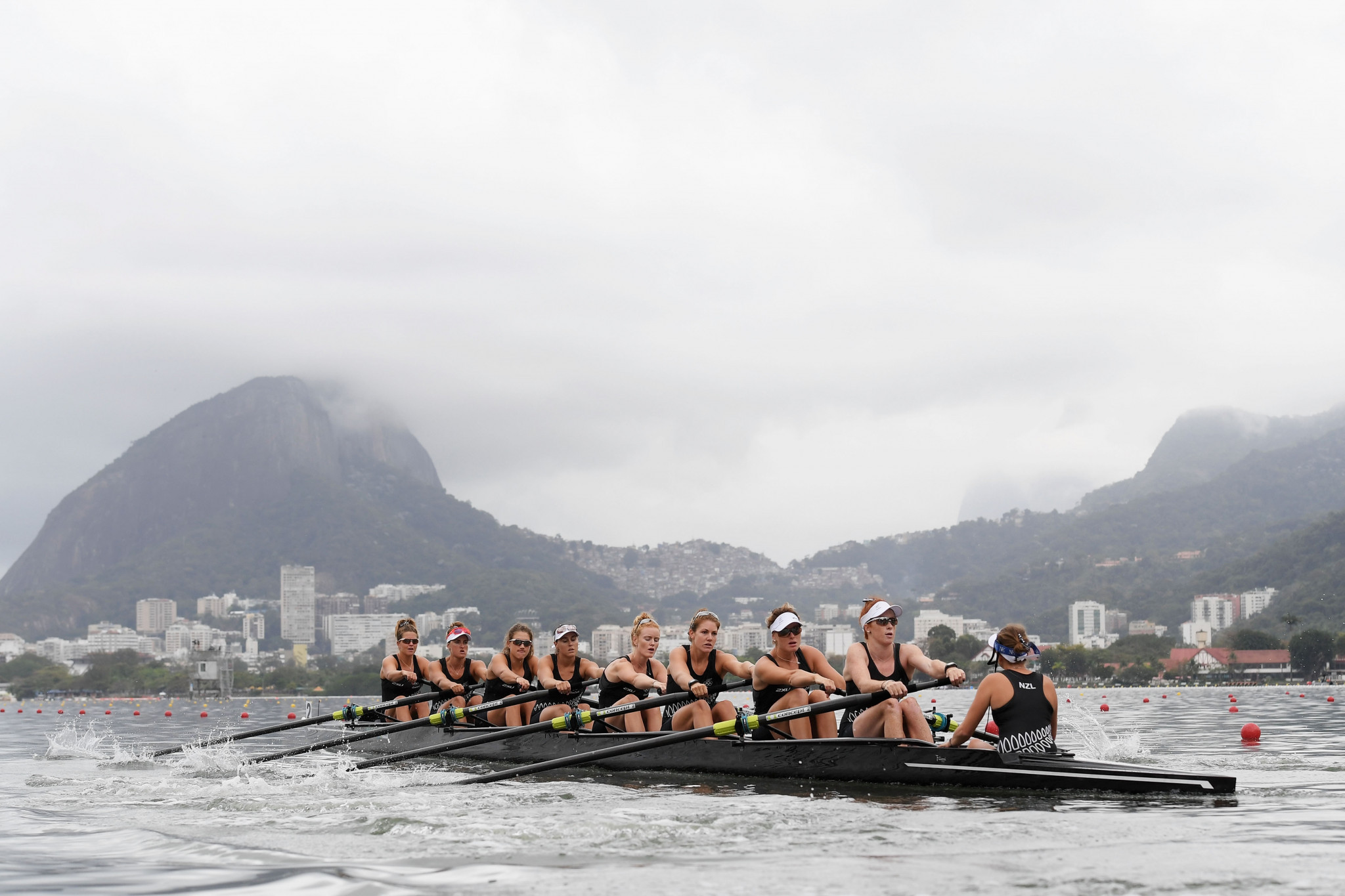 Karen Bennett was a member of the women's eight which claimed the silver medal at Rio 2016 ©Getty Images