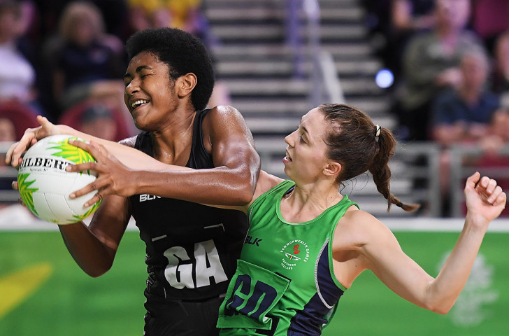 Fiji, pictured at the Gold Coast Games playing Ireland, will be favourites in the Oceania Qualifier for the 2019 World Cup that starts tomorrow ©Getty Images