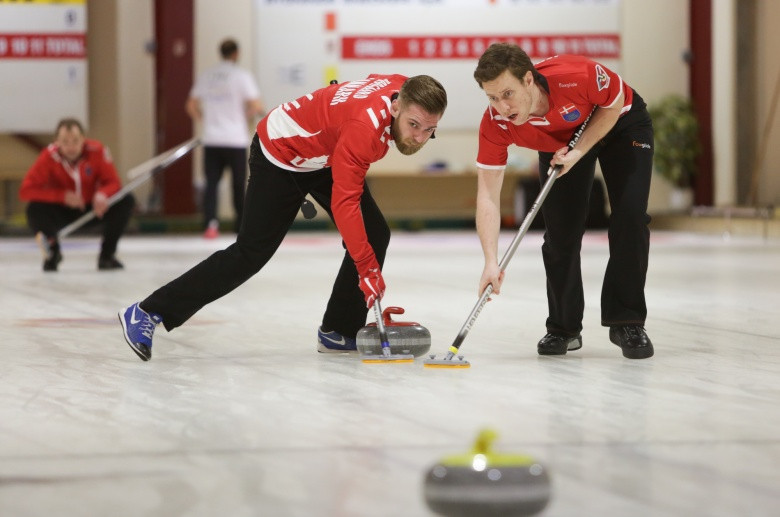 Denmark men and Slovakia women victorious in European C-Division Curling Championships