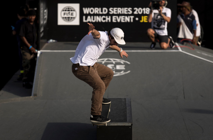The newly announced SLS World Tour and Super Crown World Championships will provide the main path for skateboarders to qualify for the Tokyo 2020 Olympics ©Getty Images
