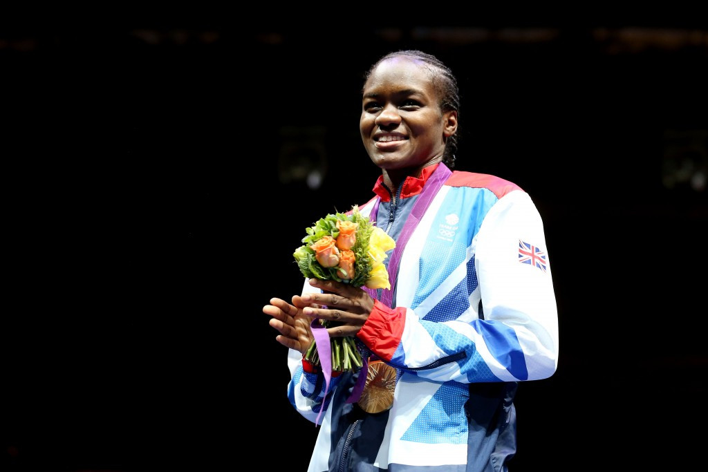 Britain's Nicola Adams won the first Olympic gold in women's boxing at London 2012