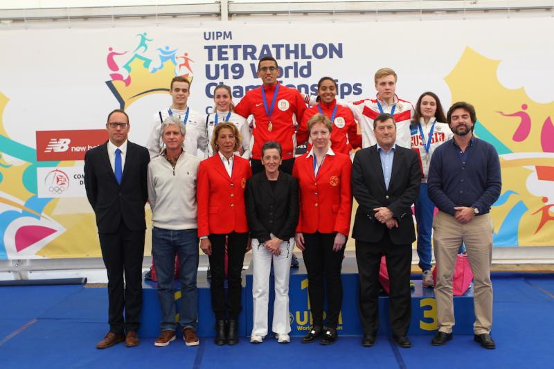 Egypt earned their third gold of the UIPM Under-19 Tetrathlon World Championships as they came to a close ©UIPM