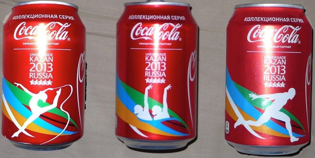 Coca-Cola were an official sponsor of the 2013 Summer Universiade in Kazan ©Coca-Cola