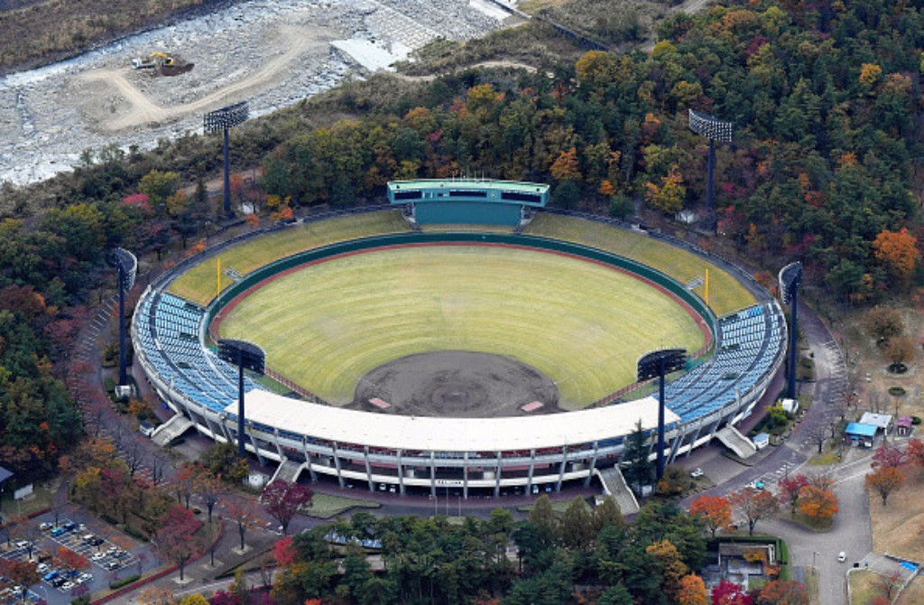 The Azuma Stadium in Fukushima will play host to baseball and softball games at Tokyo 2020, creating extra logistical challenges, according to the World Baseball Softball Confederation ©Getty Images