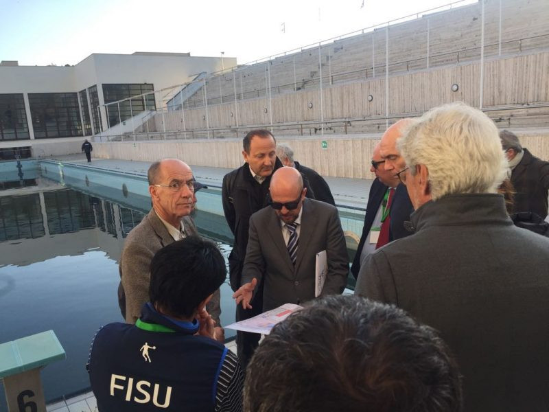 FISU International Technical Committee begins inspection of Naples 2019 preparations