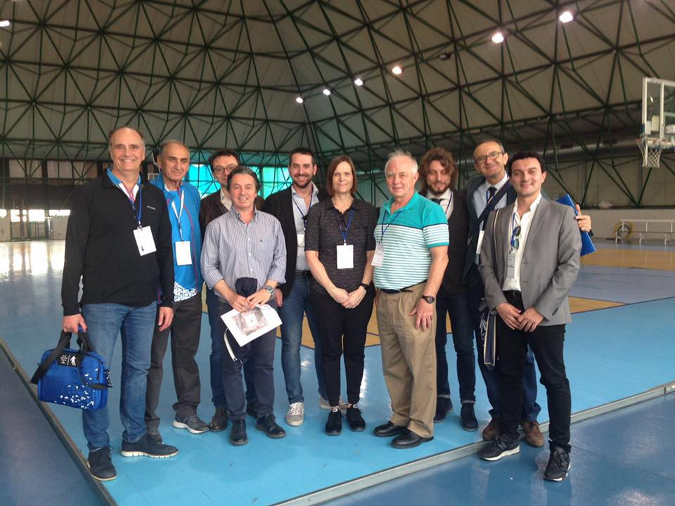The FISU International Technical Committee have travelled to Naples for a week of meetings, venue tours and to assess progress made for next year's Summer Universiade in the Italian city ©Facebook