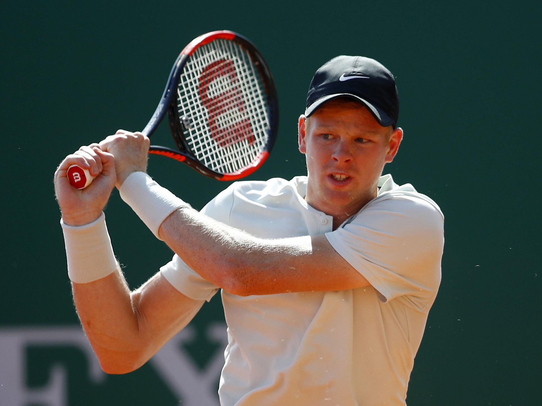 Edmund, fresh from first ATP final, beaten by Italian qualifier at Monte Carlo Masters