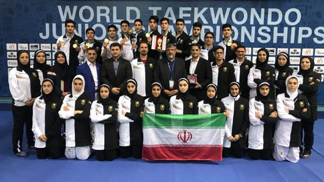 Iranian team given Presidential approval after 2018 World Junior Taekwondo Championships success