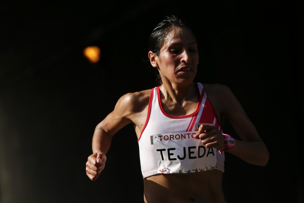 Marathon gold medallist among six more athletes banned for doping at Toronto 2015