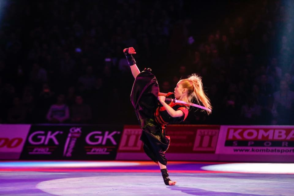 Jesse-Jane McParland has ambitions to represent the Republic of Ireland at the Olympic Games ©WAKO