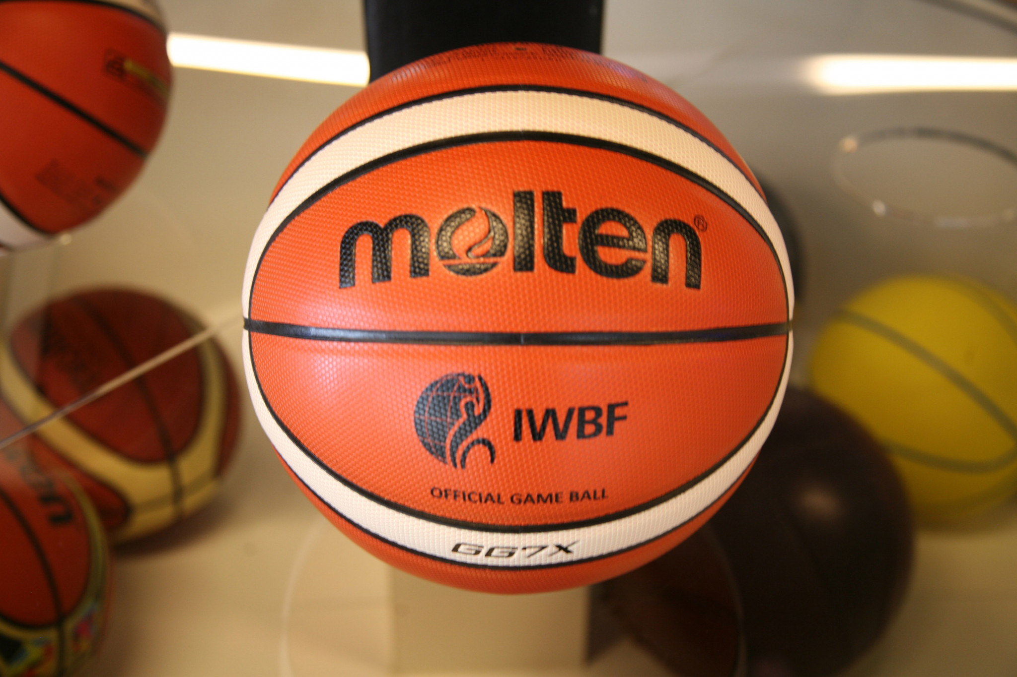Molten becomes first global partner of International Wheelchair Basketball Federation