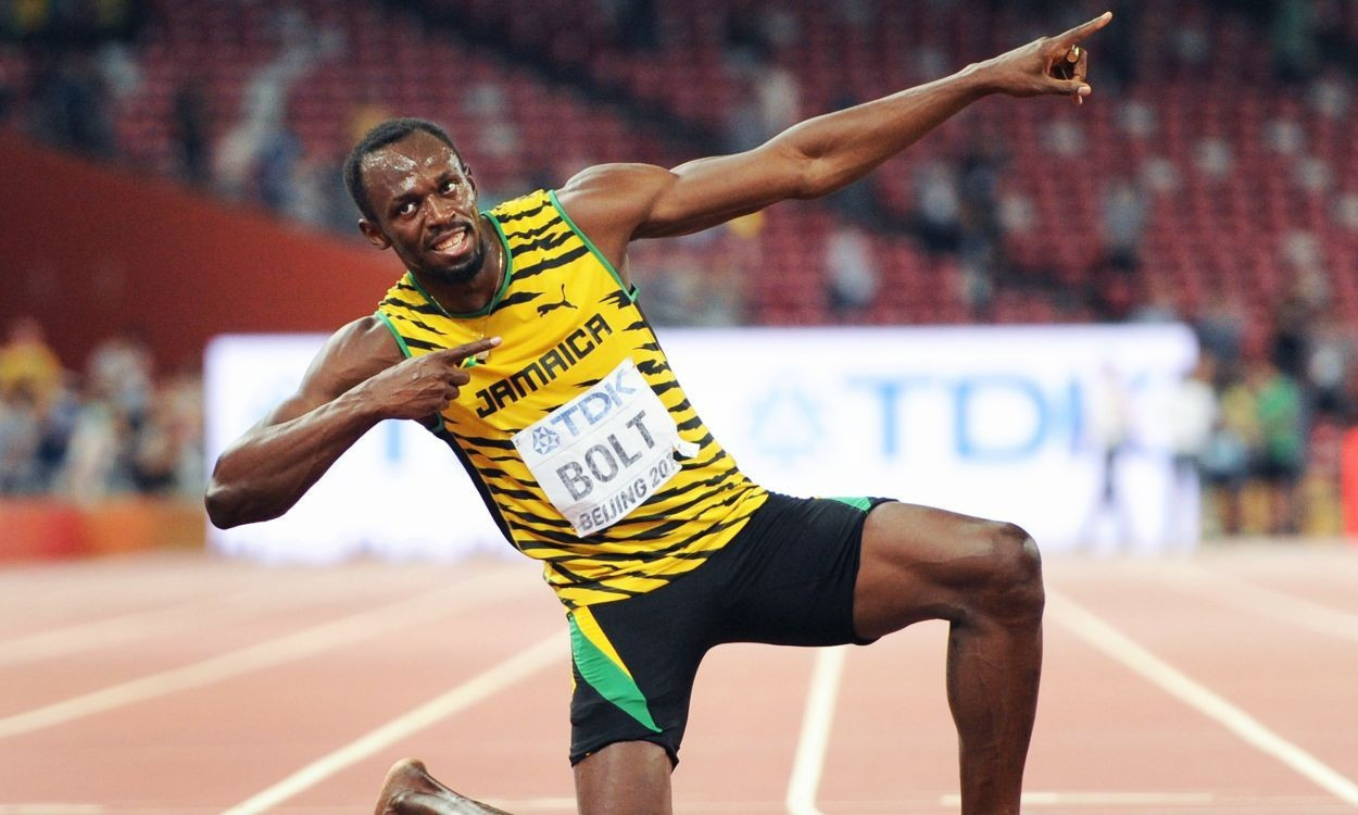 Noah Lyles has something of the natural showmanship of Usain Bolt, the world 100m and 200m world record holder who retired in 2017 ©Getty Images