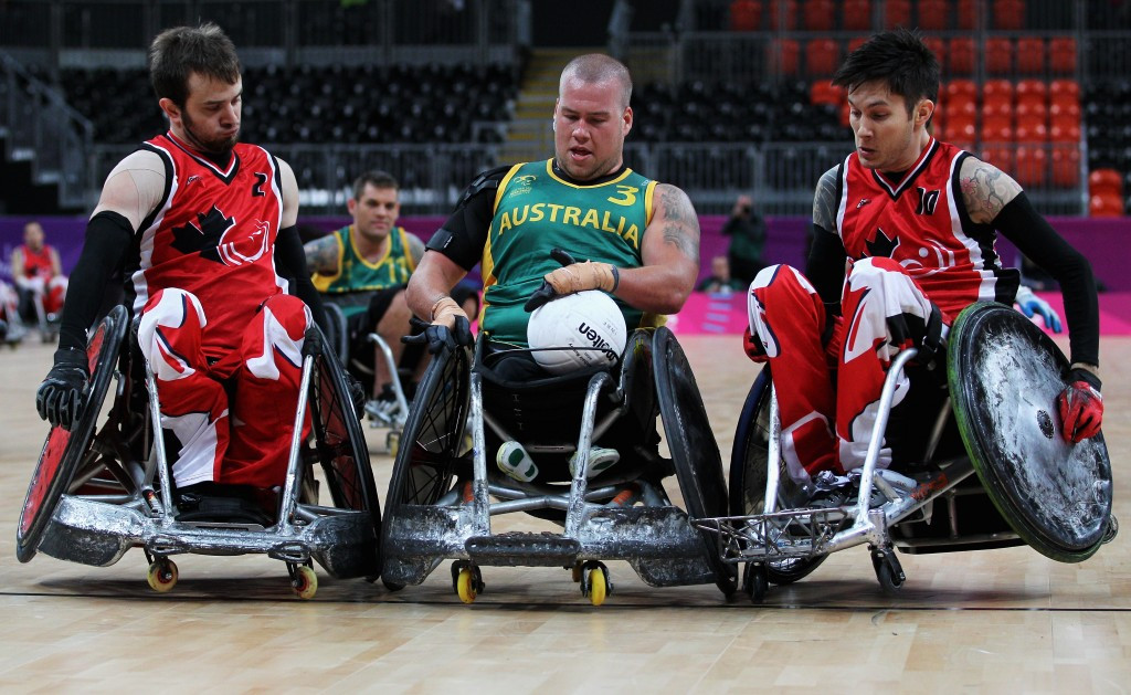 Wheelchair rugby ace Trevor Hirschfield claims IPC prize for August
