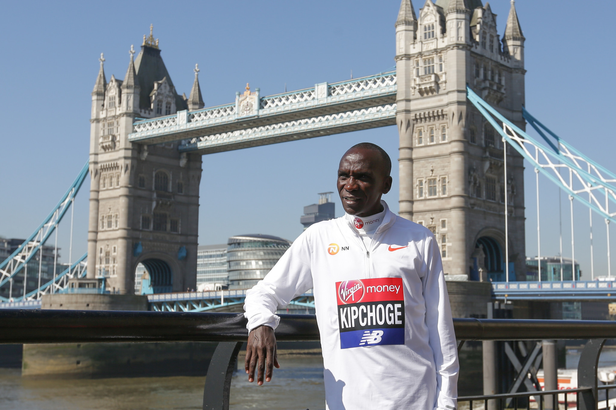 "Kenyan veteran Eliud Kipchoge has promised a ""beautiful"" race during the London Marathon ©Getty Images"