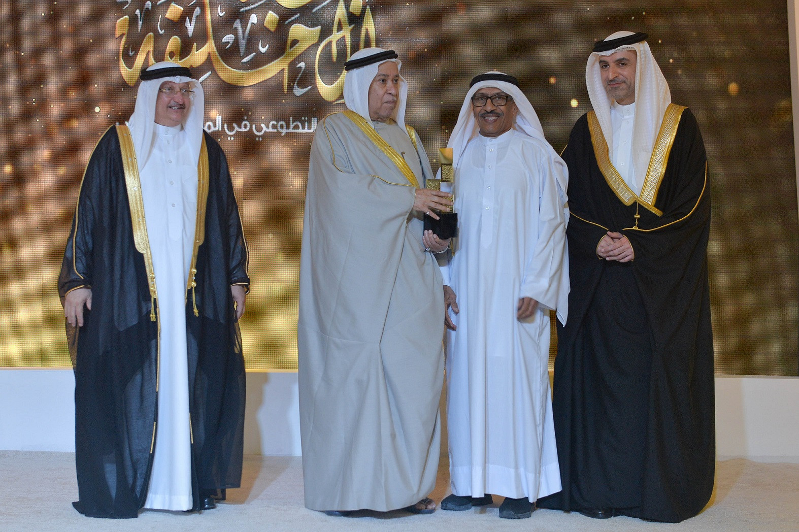 Bahrain Olympic Committee President congratulates winners of voluntary work award
