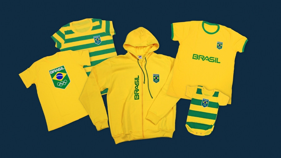 Brazilian Olympic Committee sign licensing agreement for branded clothing line
