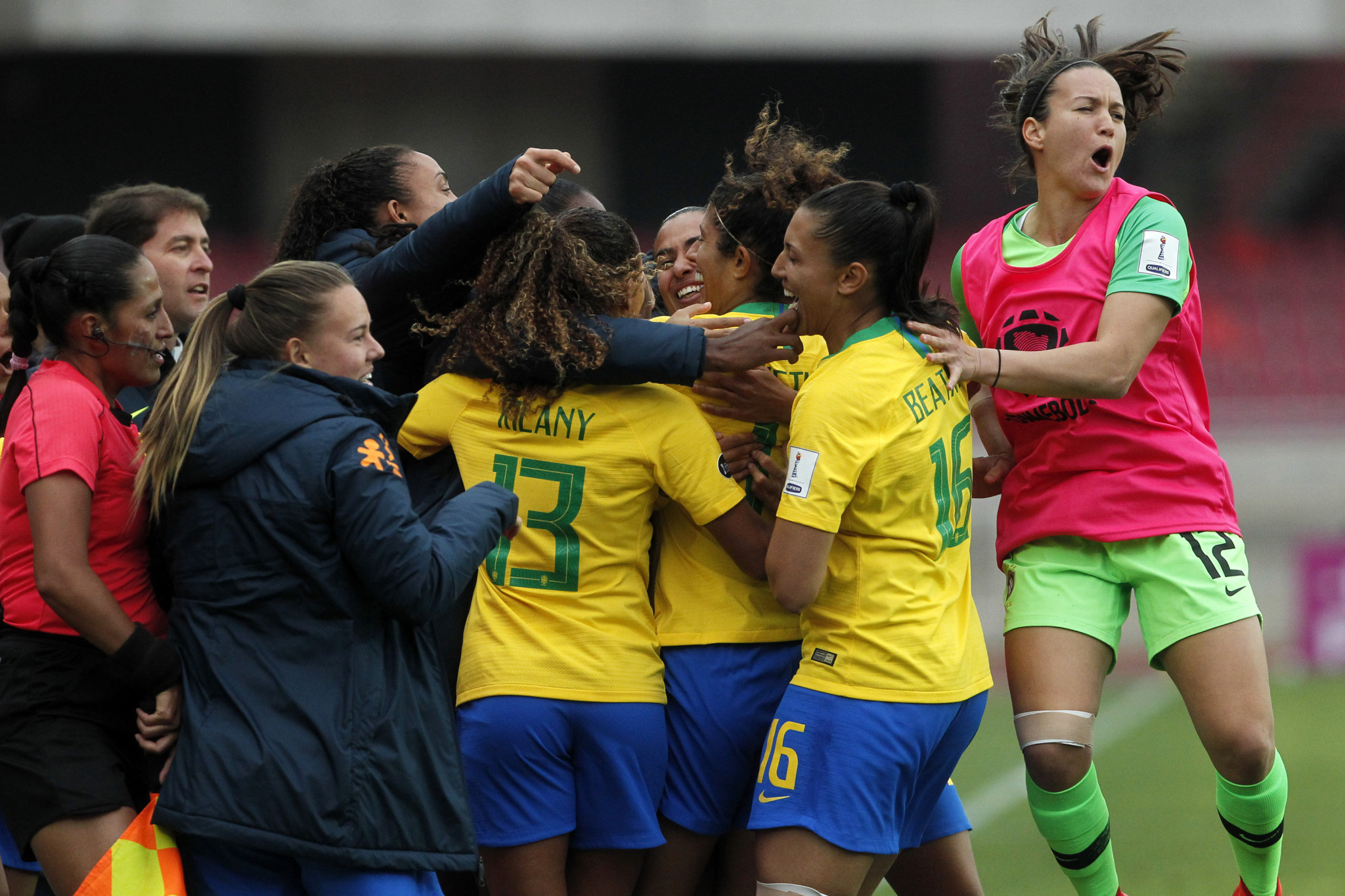 Brazil have qualified for the 2019 FIFA Women's World Cup ©Getty Images
