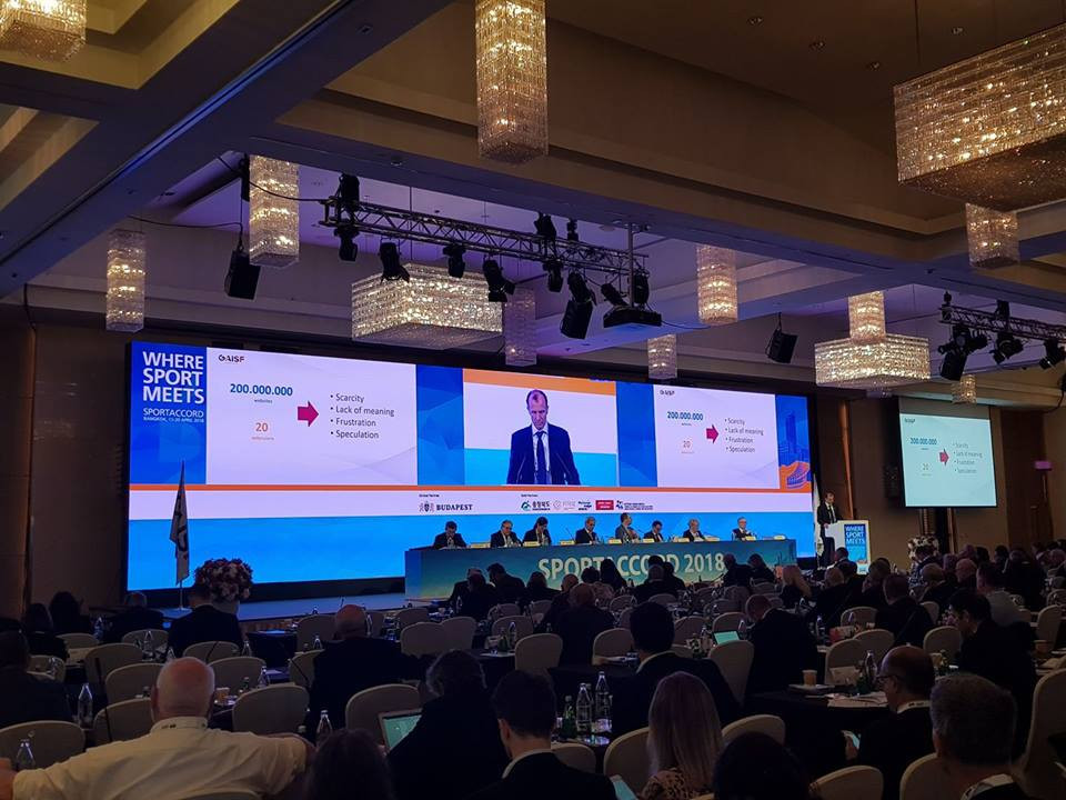 insidethegames reporting LIVE from the SportAccord World Sport and Business Summit