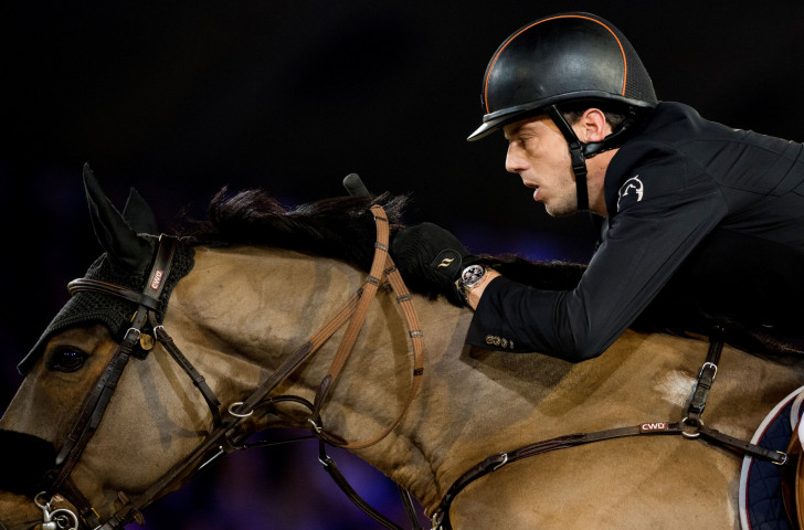 Harrie Smolders of The Netherlands is back on the Longines Global Champions Tour in Shanghai to defend his overall title having missed the first two events this season ©Getty Images