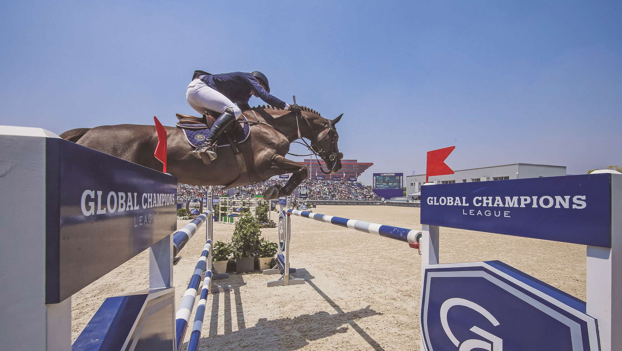 The Longines Global Champions Tour has reached its third stop of Shanghai ©GC