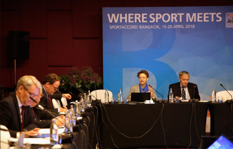 The Association of International Olympic Winter Sports Federations General Assembly was closed the media in Bangkok ©SportAccord