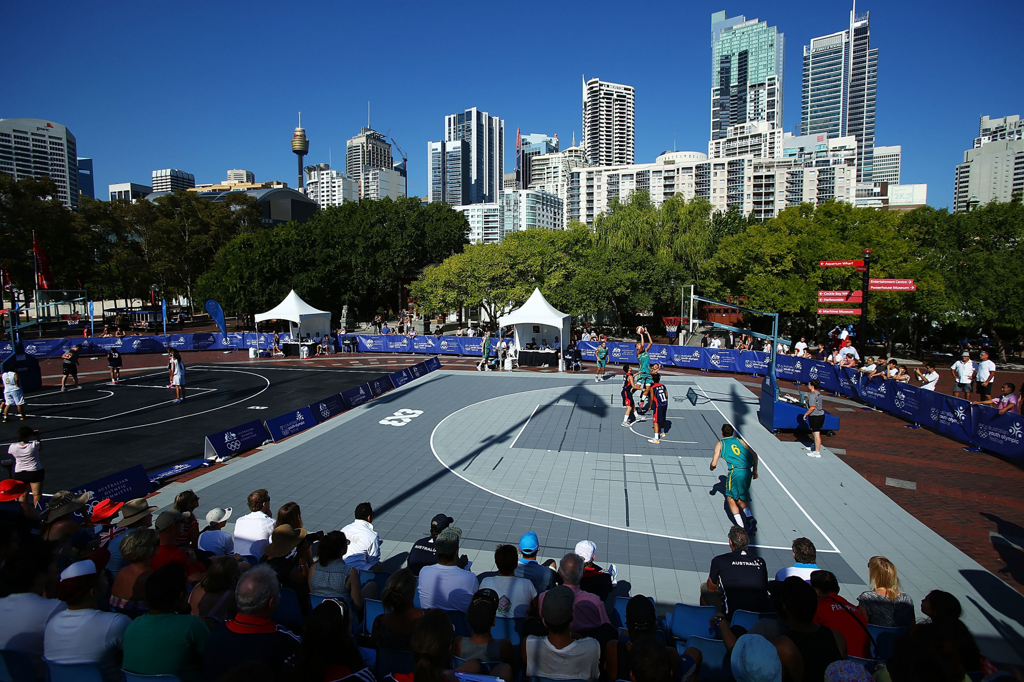 The 3x3 event will allow athletes the chance to earn a spot on the FIBA World Tour ©Getty Images