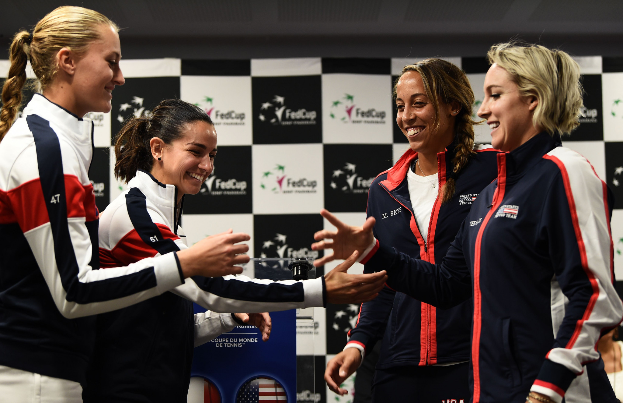 United States continue pursuit of 19th Fed Cup title in semi-final clash with France