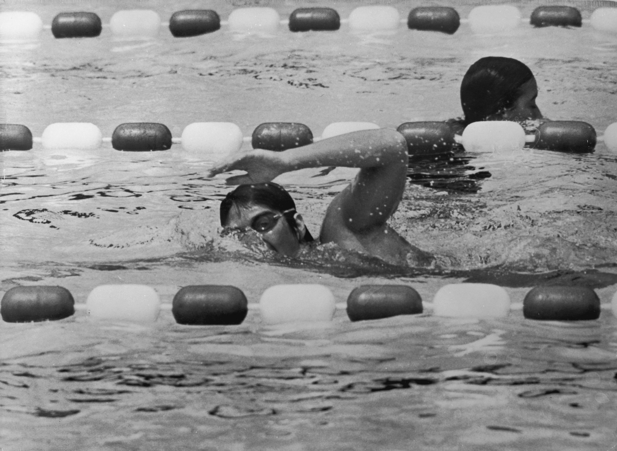 Australian swimmer Dawn Fraser was the undoubted star of Perth 1962 ©Getty Images