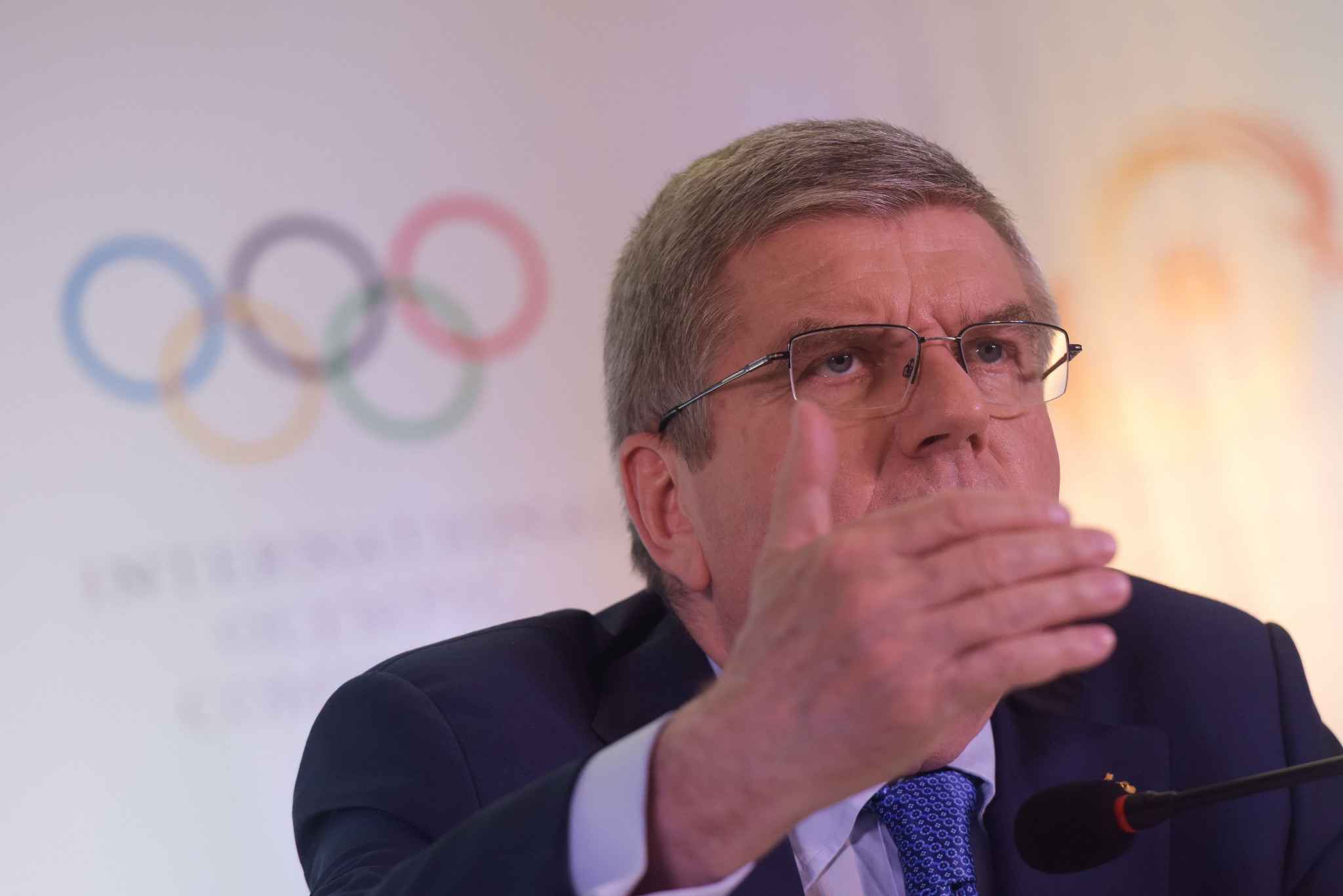 IOC President Thomas Bach warned India it was too early to discuss candidacies for future Games ©Getty Images