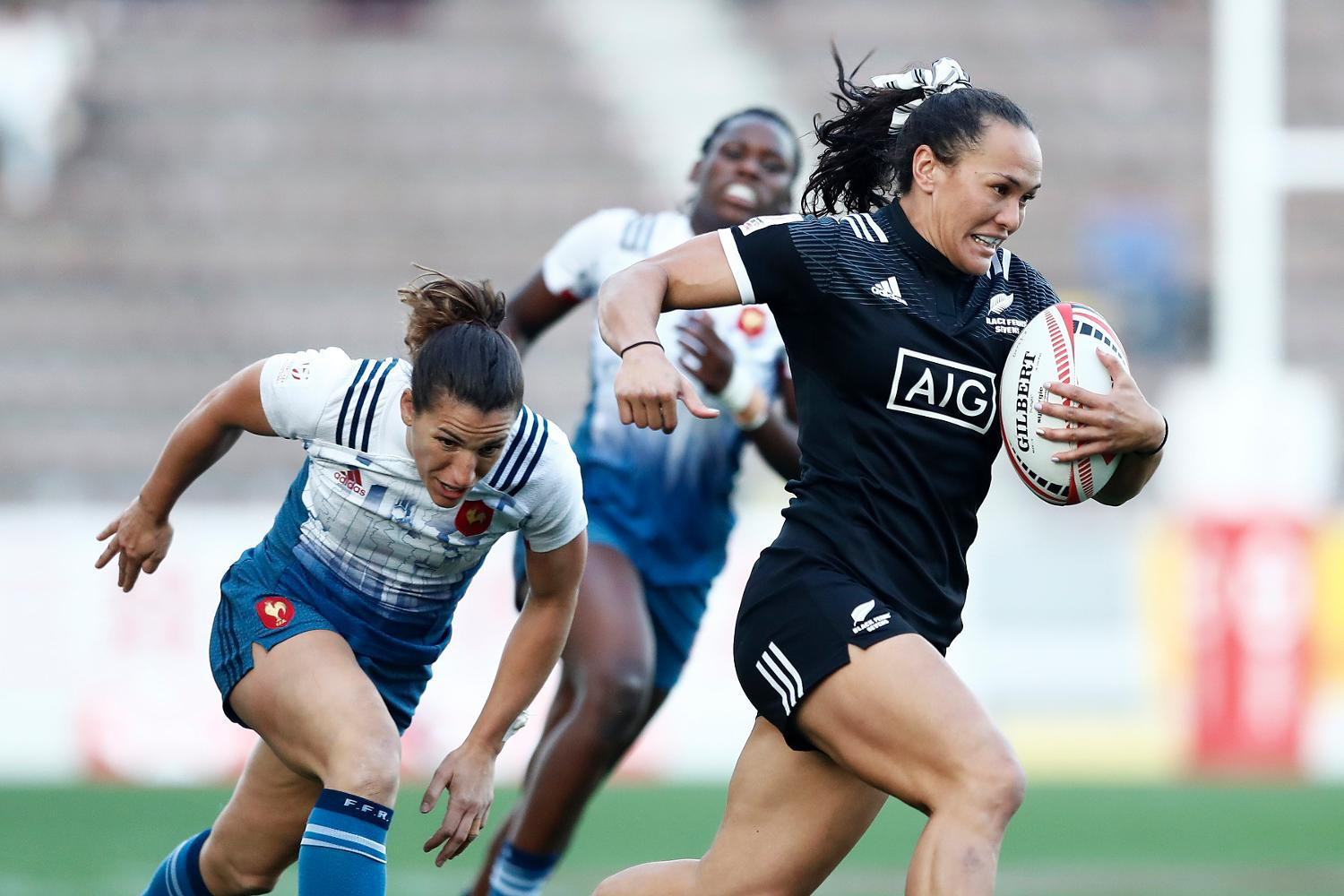 New Zealand booked their quarter-final place with ease ©World Rugby