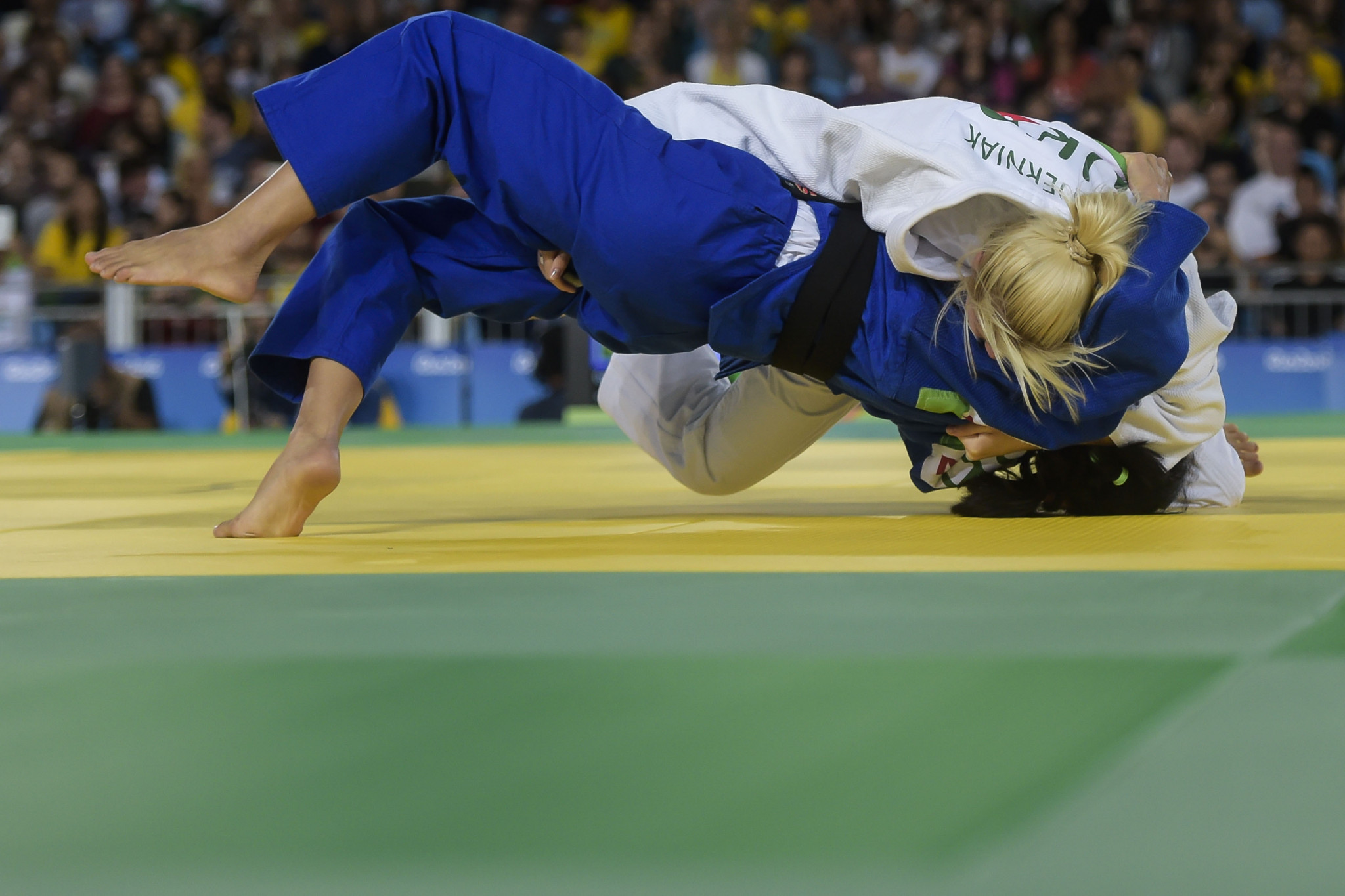 Paralympic and world champions in action at IBSA Judo Grand Prix in Antalya