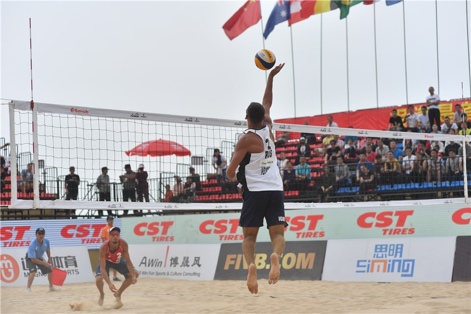 All Russian men's final in prospect at Xiamen Open FIVB Beach World Tour event