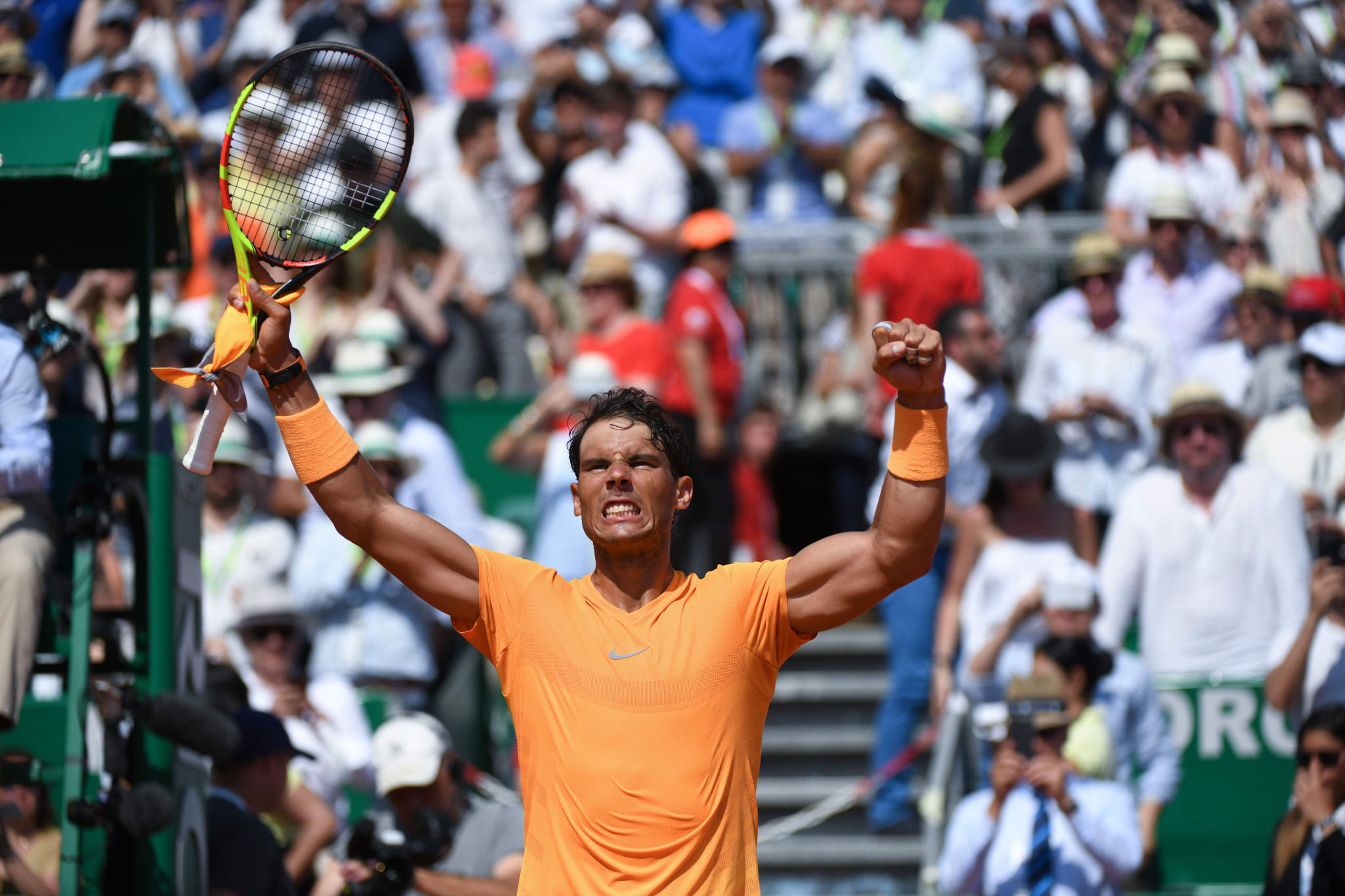 Rafael Nadal marches on towards 11th Monte Carlo crown