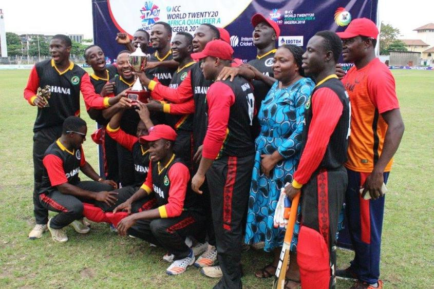 Ghana finish top of World Twenty20 Africa Qualifier A with victory over Nigeria