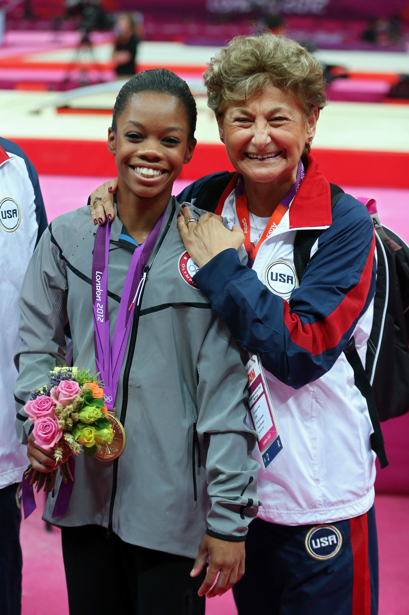 Marta Karolyi worked with many of the United States top gymnasts, including Gabby Douglas, a double Olympic gold medallist at London 2012, but claims she had no idea they were being sexually abused by Larry Nassar ©Getty Images