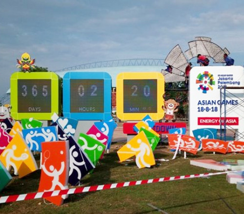 The 2018 Asian Games is being hosted in both Jakarta and Palembang ©OQH Ads