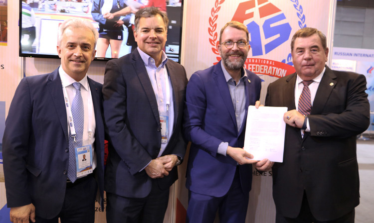 The International Sambo Federation are among the latest world governing bodies to sign an agreement with the Olympic Channel, along with kicboxing and squash ©FIAS
