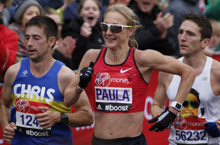 Paula Radcliffe bid an emotional farewell in what is expected to be her last ever London Marathon