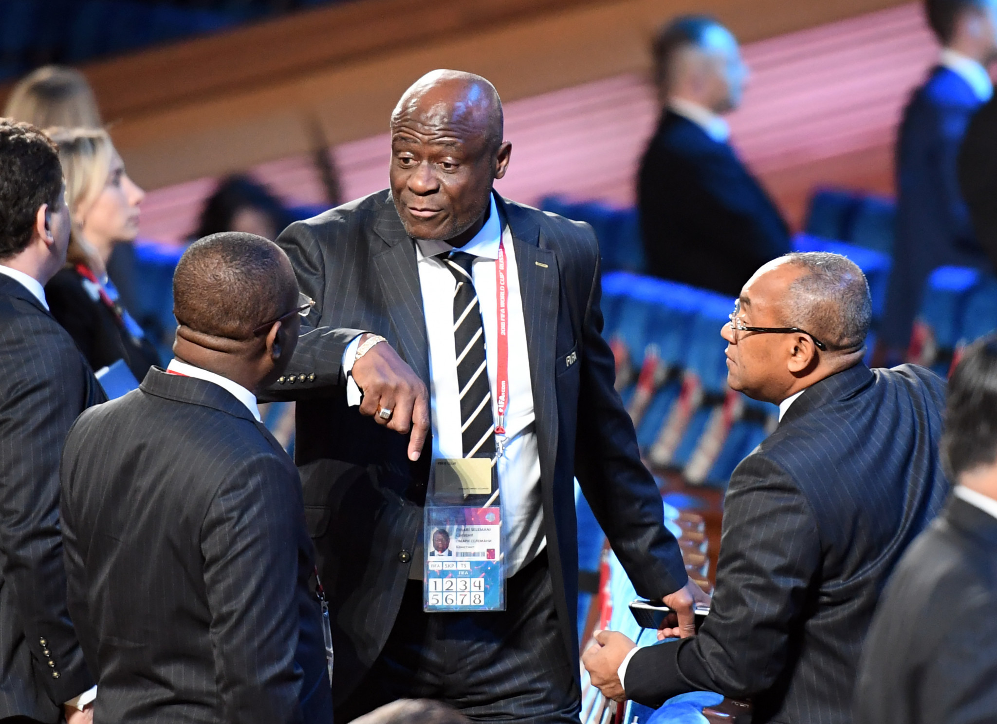 FIFA Council member Constant Omari has accused the DR Congo Sports Minister Papy Nyango of orchestrating his arrest on corruption charges ©Getty Images