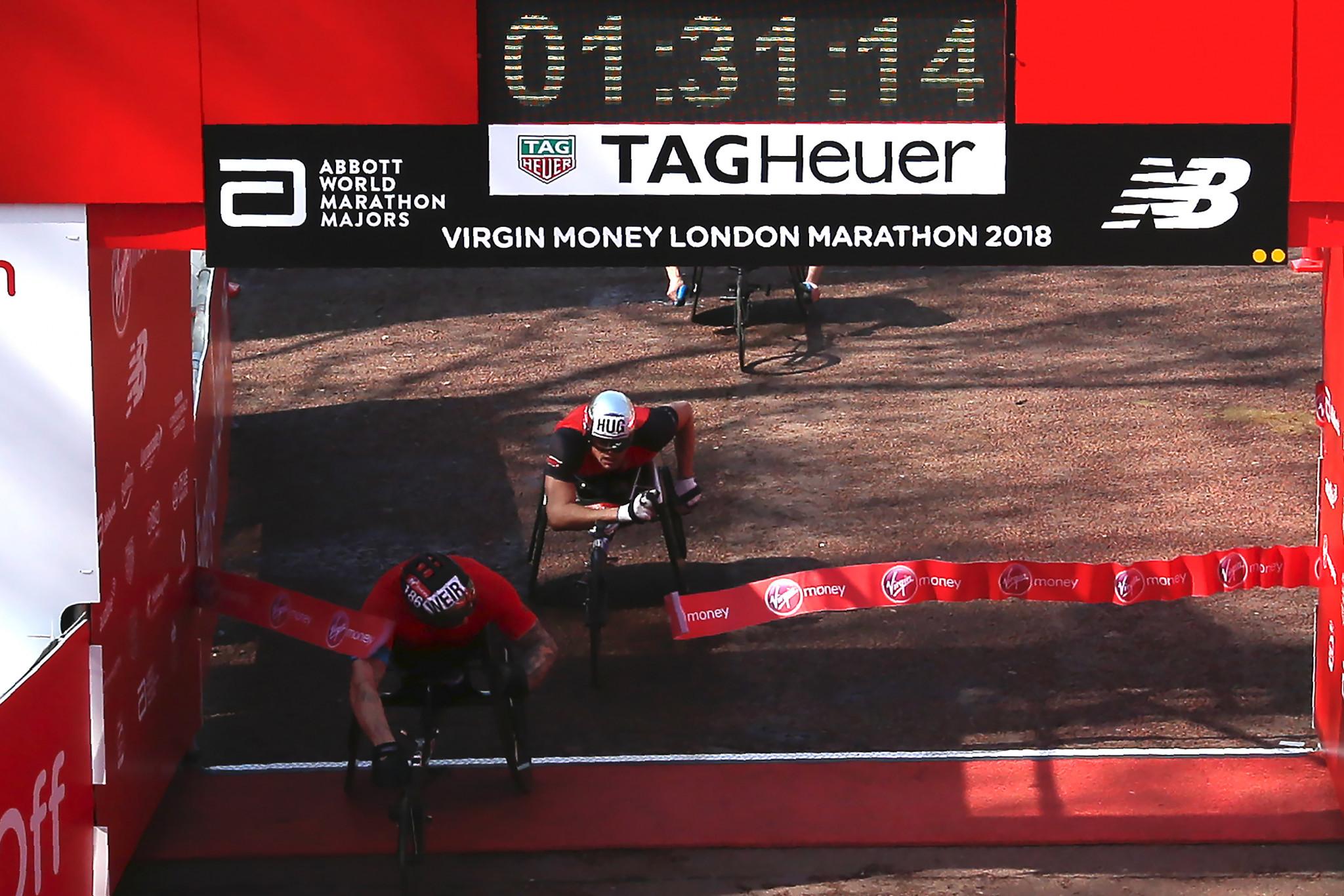 Weir secures eighth wheelchair victory as De Rozario claims shock win at London Marathon
