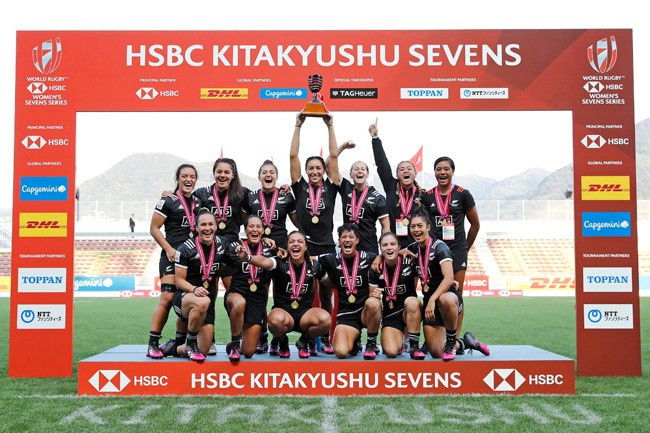 New Zealand built on their triumph at the recent Gold Coast 2018 Commonwealth Games as they overcame France in the final ©World Rugby